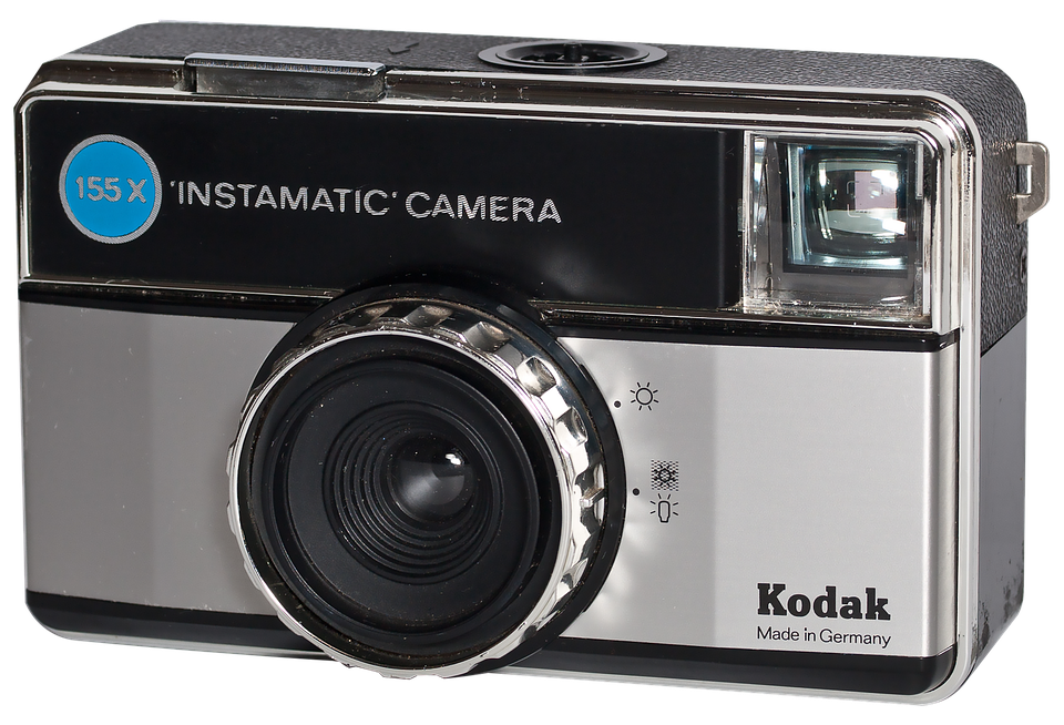 Camera Vintage Vector Png : Kodak instanatic camera · free photo on pixabay
