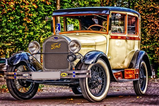 Ford, Oldtimer, Automotive, Classic, Old