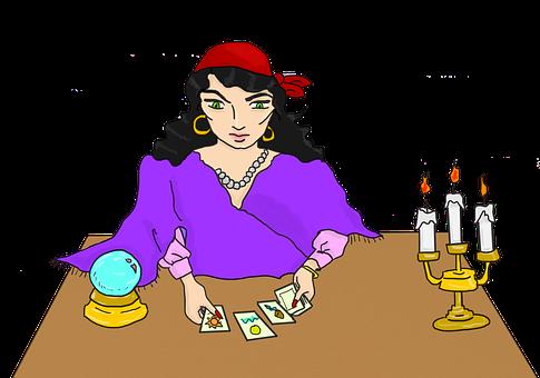 Tarot, Tarotkort, Fortune Teller