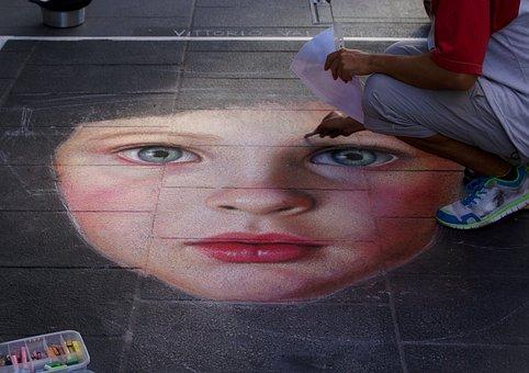 Artista Di Strada, Madonnaro, Madonnari