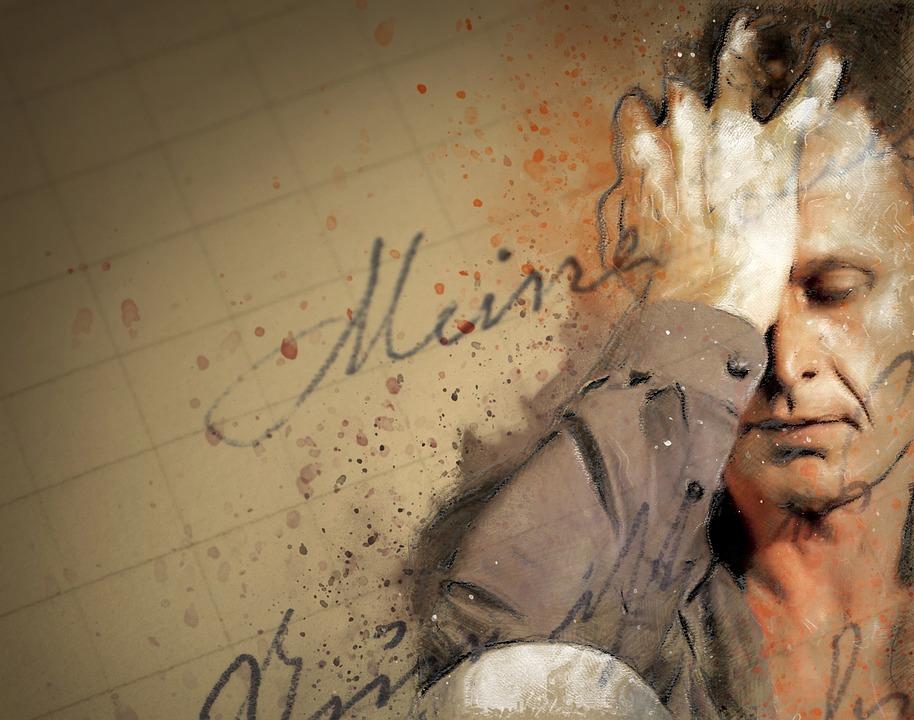 Man, Portret, Gezicht, Uitdrukking, Haar, Model