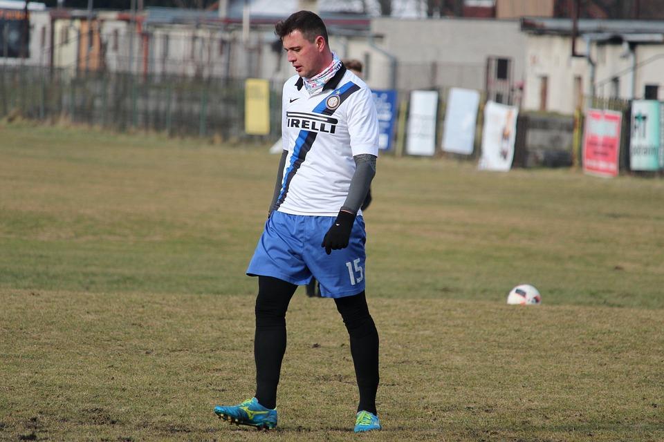Football, Footballer, Player, A Man, Athlete
