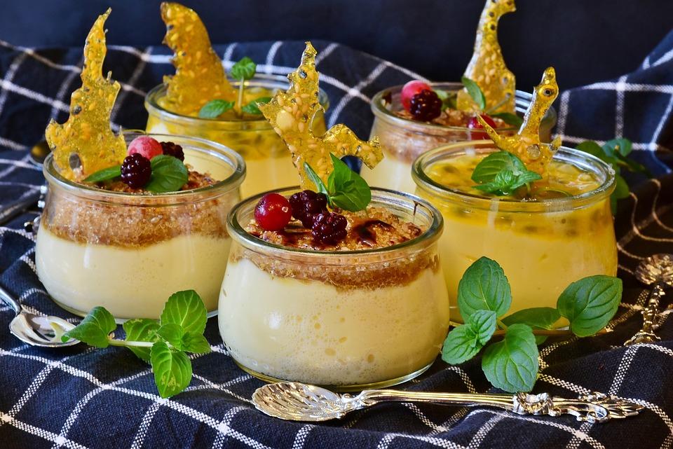 Crema, Crema Di Latte, Di Zucchero, Uovo, Dessert