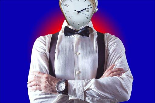 Time, Man, Clock, Success, Manager