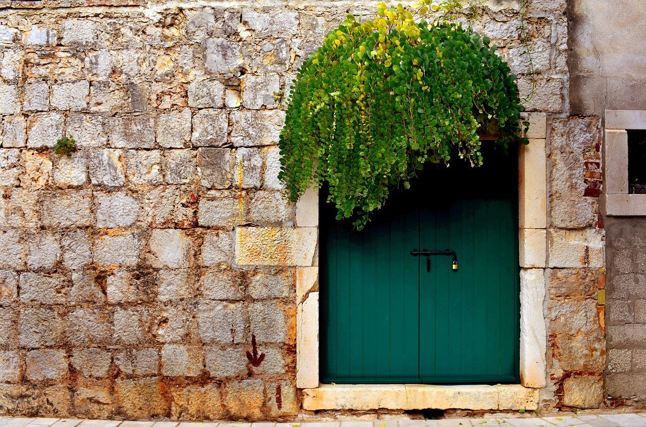 An Antique Garden Gate