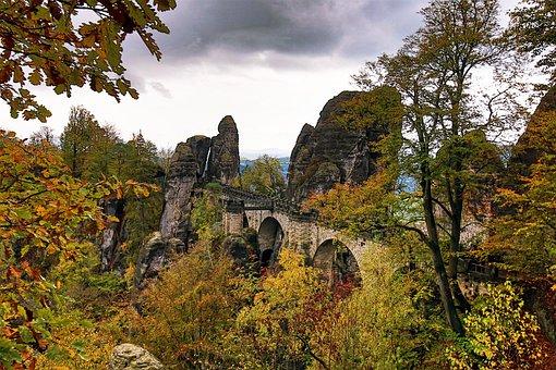 Saxon Switzerland, Saxony, Bastei
