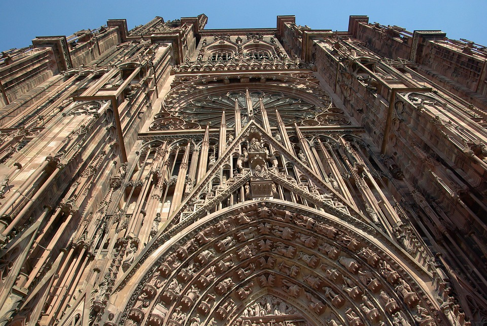 Strasbourg, Cathédrale, Gothique, Sculptures, Religion