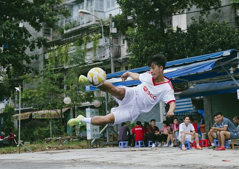 Footballer, Football, Street
