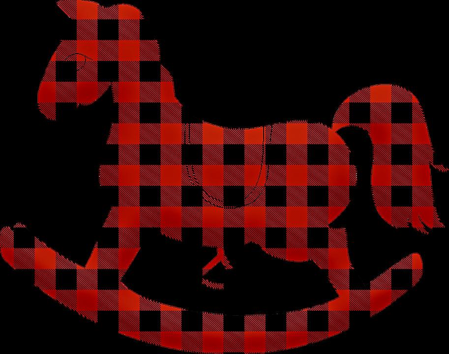 Buffalo-Karo Schaukelpferd · Kostenloses Bild auf Pixabay