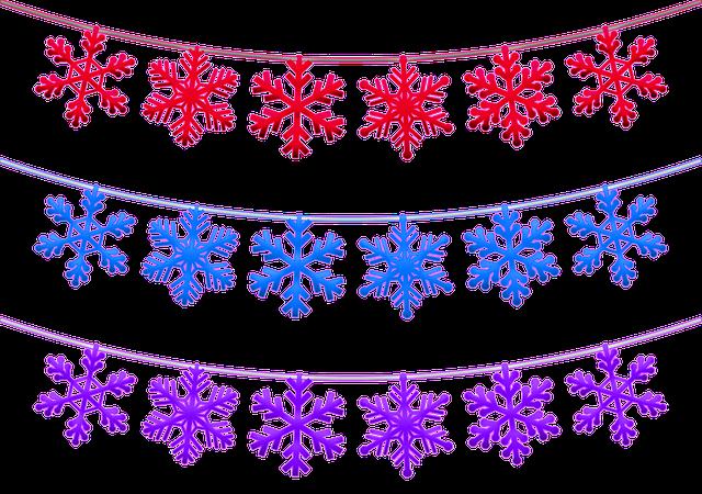 Christmas Snowflake Banner Free Image On Pixabay