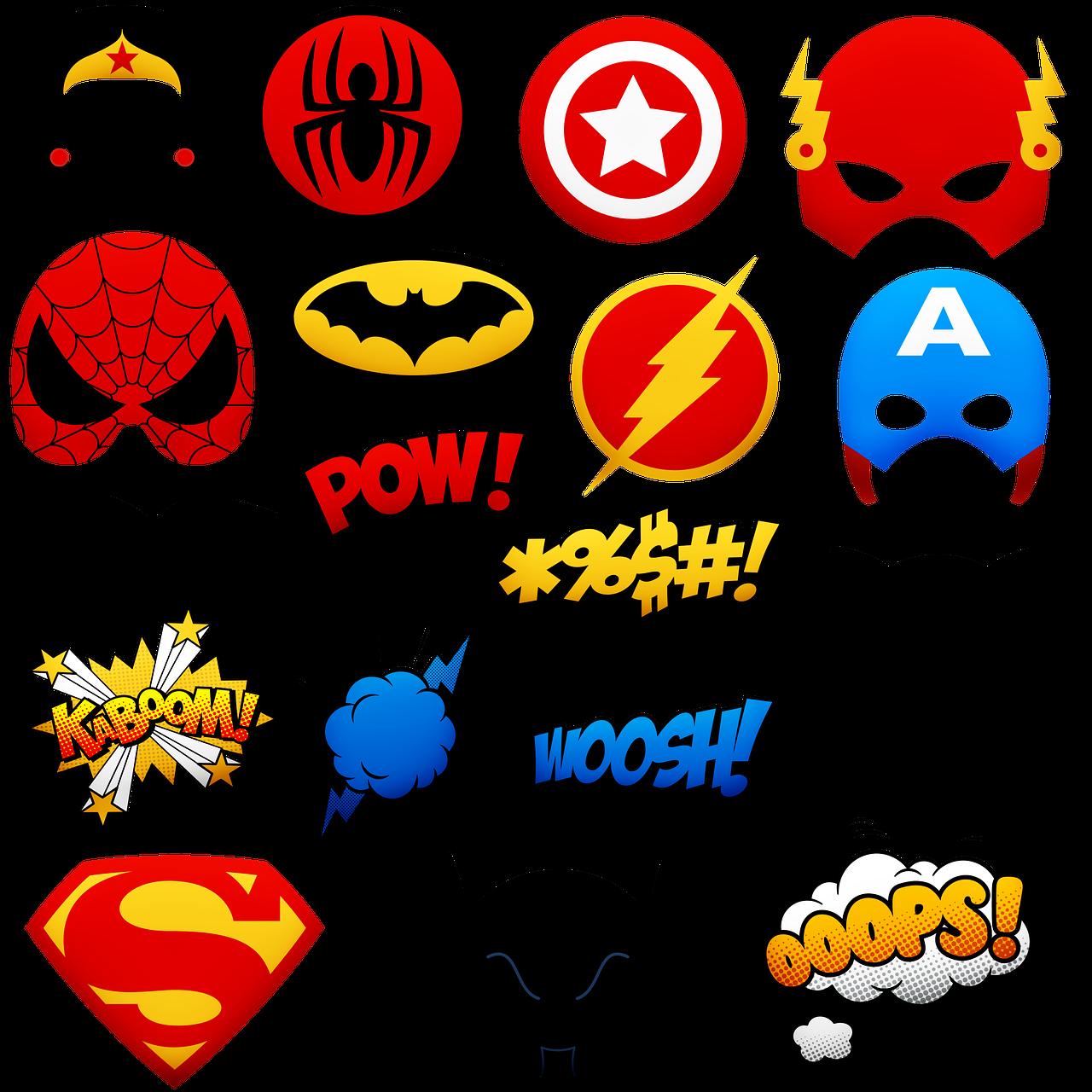 Эмблемы супергероев марвел картинки