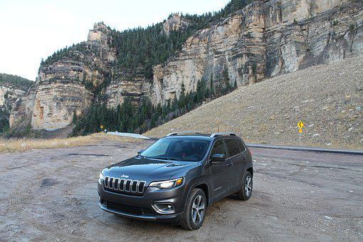 Mountain, Jeep, Suv, Cherokee, Car