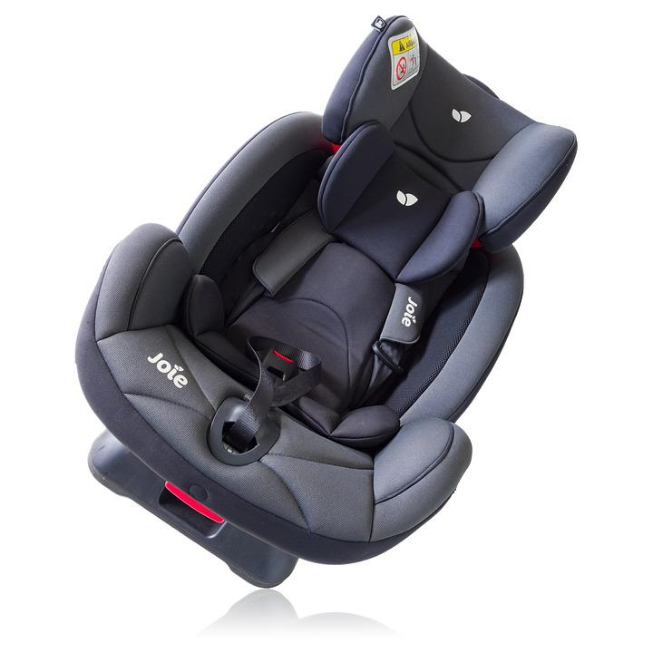 Joie Baby Car Seat Isolated