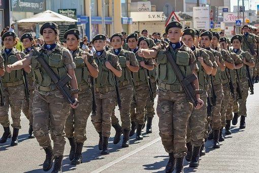 Quân Sự, Quân Đội, Người, Người Phụ Nữ