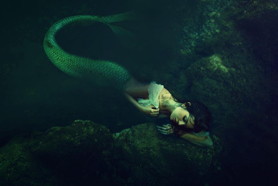 Donna, Sirena, Fantasia, Mitologia, Sirene, Oceano