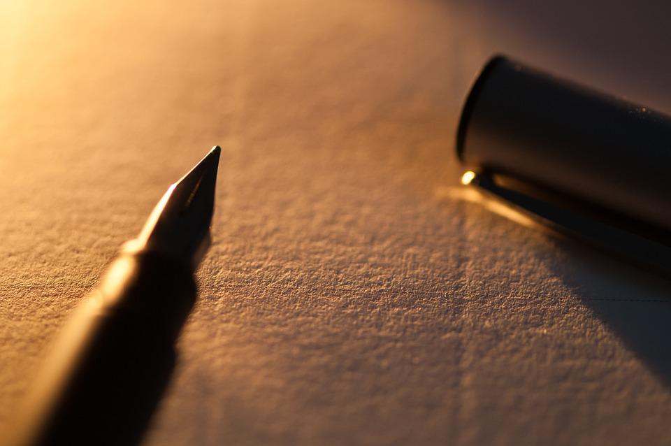 Agenda, Stylo, Livre, Papier, Cahier, Écrivain