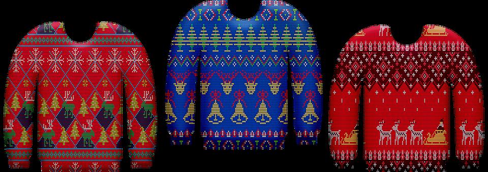 Ugly Christmas Sweater, Christmas Sweater, Knitwear