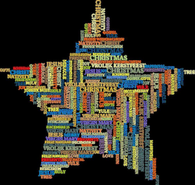 Weihnachten Jesus Wort-Wolke · Kostenlose Vektorgrafik auf Pixabay