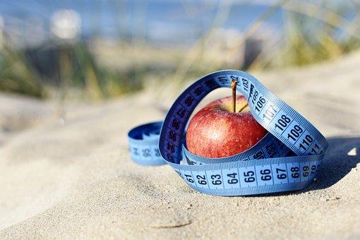 Motivation, Apple, Measure, Blue Tape