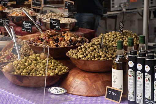 Olives, Olive Oil, Market Day, Market