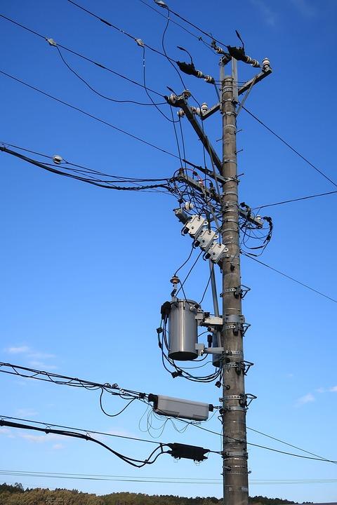 Pole Power Line Substation - Free photo on Pixabay