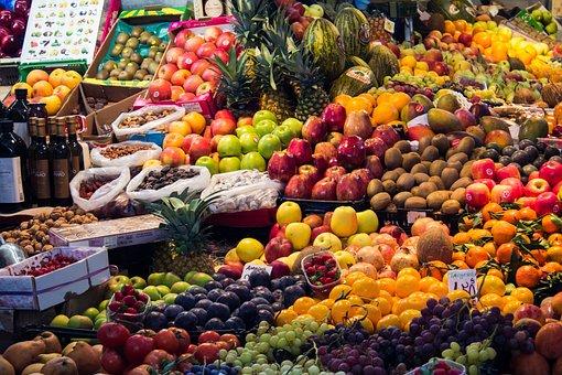 Marocco, Mercato, Frutta, Verdura