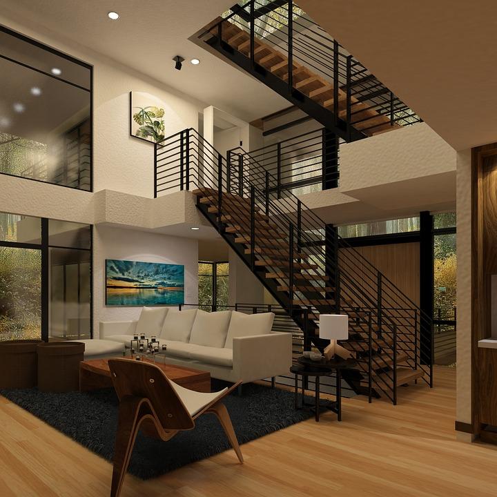 Treppen Wohnzimmer - Kostenloses Foto auf Pixabay