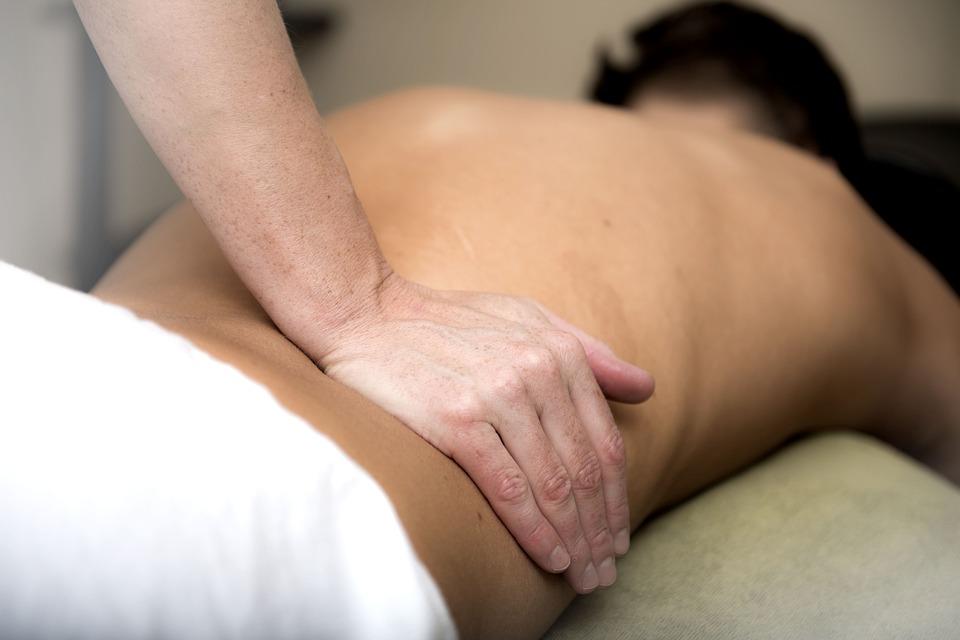 Massaggio, Relax, Bassa Della Schiena