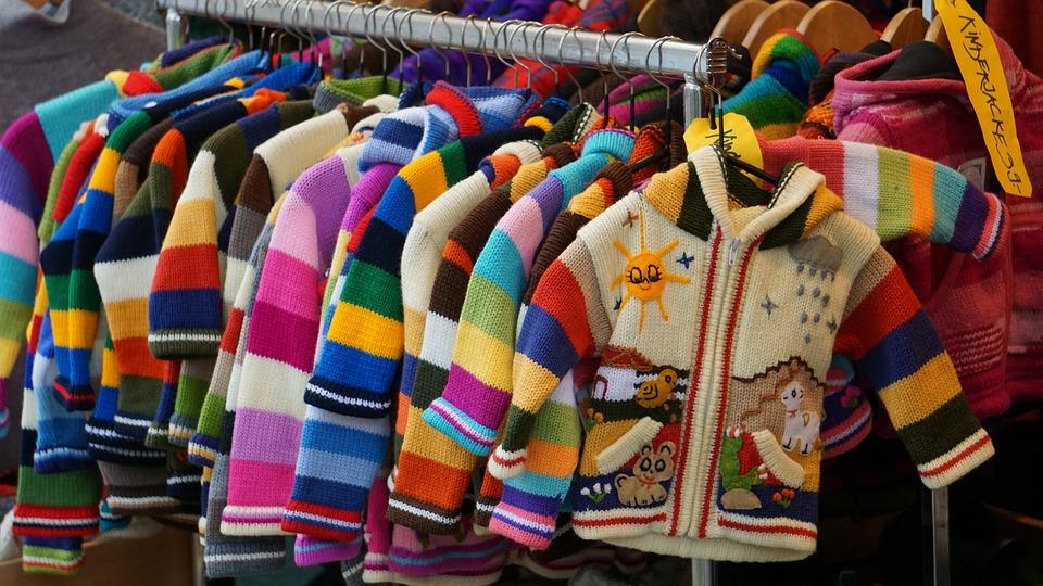 Children Dresses, Colored Jackets, Cardigans