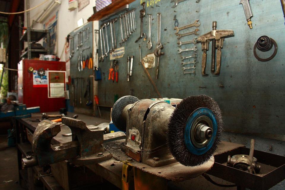 Fabriksnye Bil Garage Gamla - Gratis foto på Pixabay WX-23