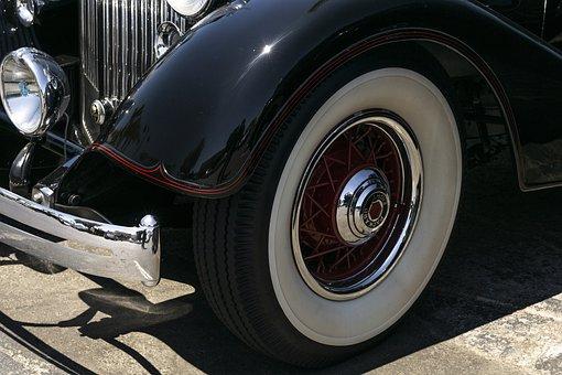 スーパー8パッカード, 1934, 転換, 古典的な, 車, ビンテージ, 自動