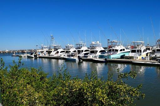 Boat Marina, Boats, Yacht, Moored