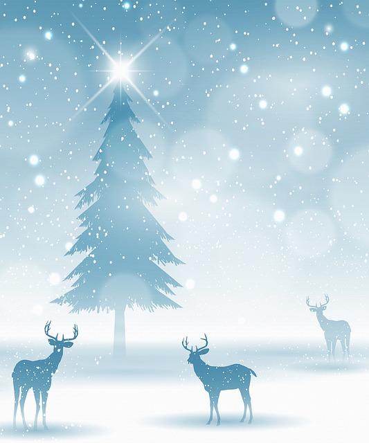 rehe im schnee weihnachten kostenloses bild auf pixabay. Black Bedroom Furniture Sets. Home Design Ideas