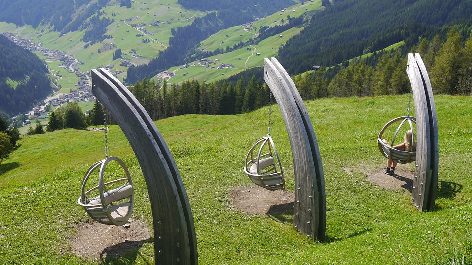 Itävalta, Alpit, Keinu, Luonnonkaunis, Vuoret, Panorama