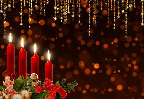 Advent, ΚεÏιά, Έλευση, Bokeh, Λάμψη