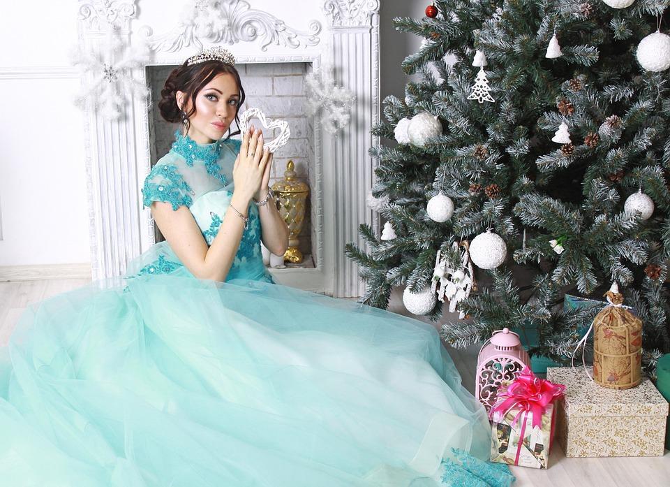 Princess, Christmas Tree, New Year, Рождество, Праздник