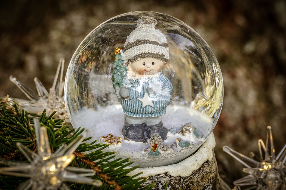 Weihnachtsdeko Schneekugel.Weihnachten Schneekugel Winter Kostenloses Foto Auf Pixabay