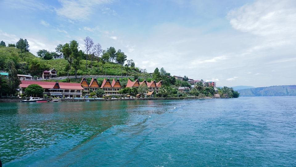 湖, 鳥羽, 北スマトラ島, インドネシア語, 自然, スマトラ島, トロピカル, Samosir, 旅行