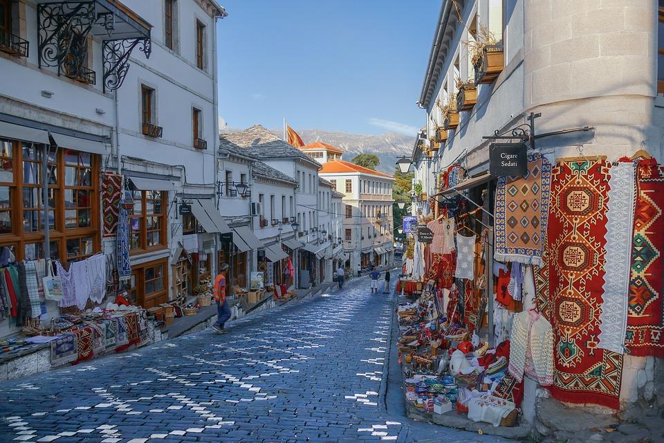 Gjirokastër, Albania, City, Architecture, Unesco