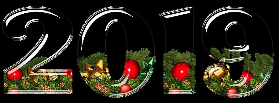Nyårsafton, Julen, Siffror