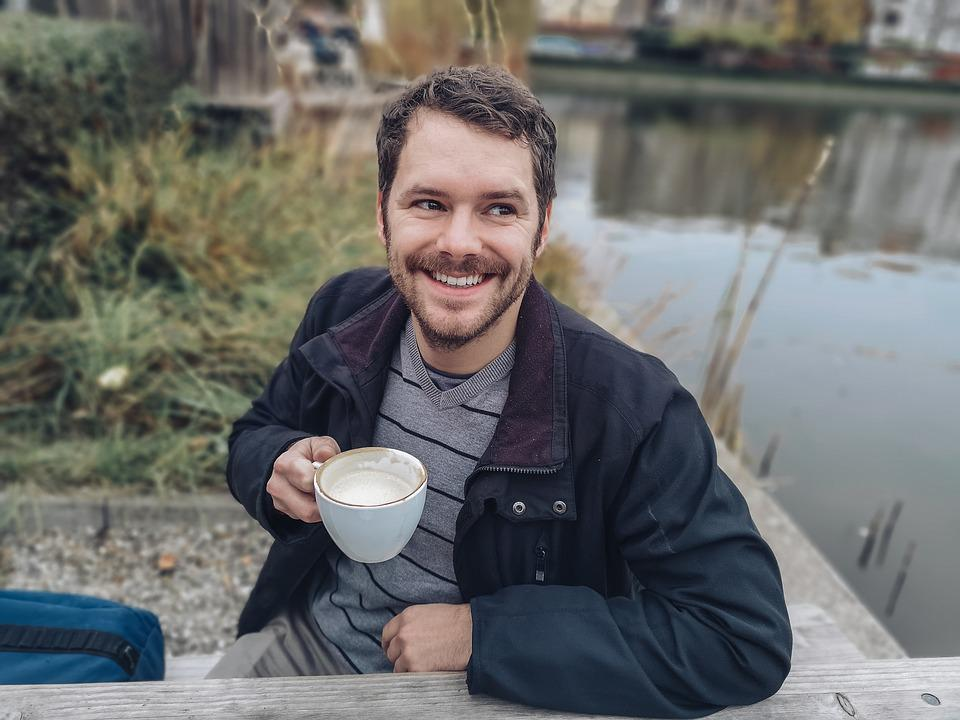 Man, Coffee, Human, Tee, Person, Drink, Cup, Portrait