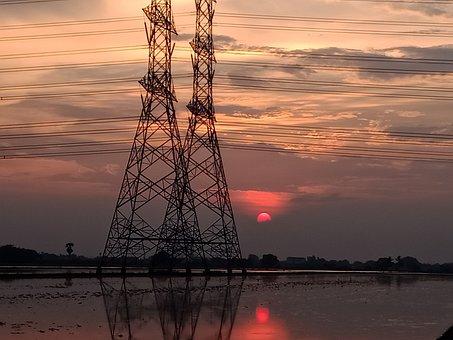 Work, Electrical, Eletric, Sun, Eletric