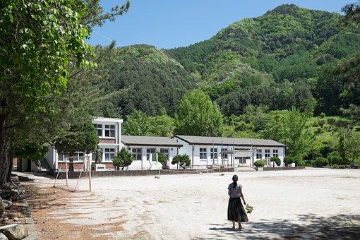 江原道, ネイティブ, 新しい写真, 小学校, 夏, 休暇, ロマン, ある