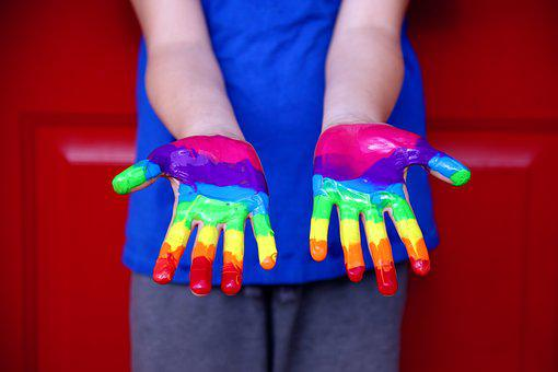 Human Rights, Equality, Rainbow, Lgbt