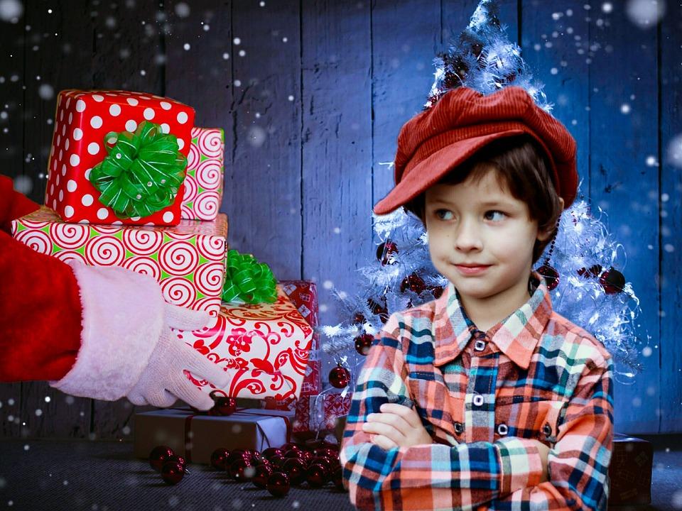 サンタ クロース, サンタ, ギフト, プレゼント, クリスマス, クリスマス ・ イヴ, 休日, 赤