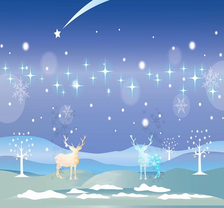 Weihnachten Winter Landschaft · Kostenloses Bild auf Pixabay