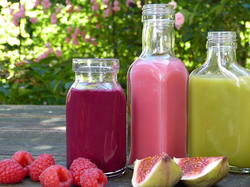 Frullati, Succo, Frutta, Sano, Colorato, Bottiglia