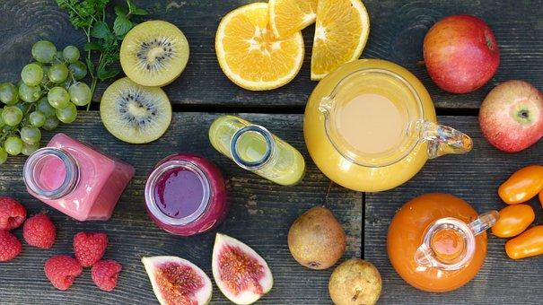 Fruit, Fruits, Smoothies, Juice, Fresh