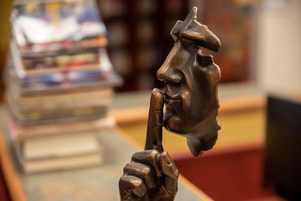 Silêncio, Calma, Biblioteca, Estudo, Brown Library