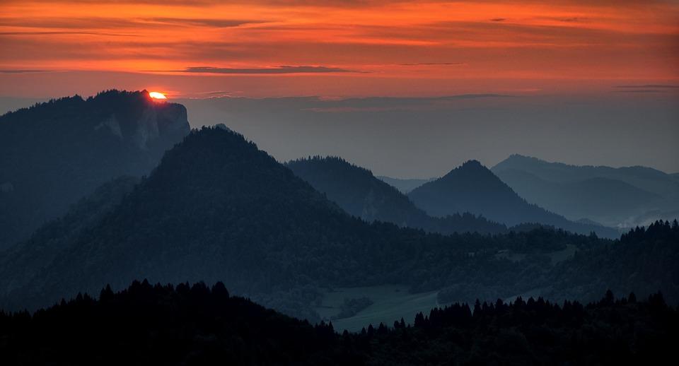 View Landscape Twilight Free Photo On Pixabay
